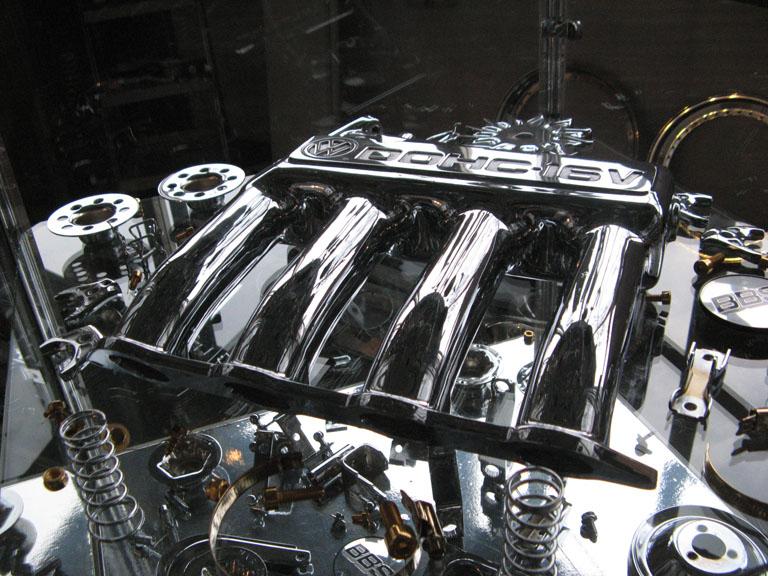 Motor verchromen