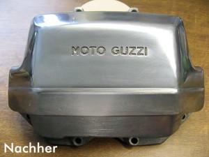 Ein Motor nach dem polieren durch den Felgendoktor