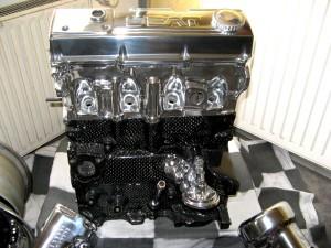 Motorteile beim Felgendoktor vergolden
